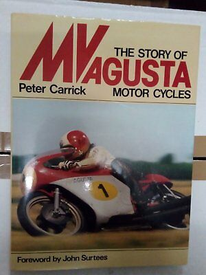 The Story Of Mv Agusta Motor Cycles Motorcycles Peter Carrick Patrick Stephens