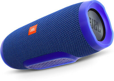 New JBL - CHARGE 3 BLUE - Portable Bluetooth Speaker