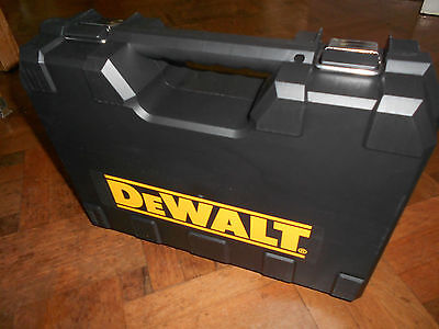 Compact Carry Case Altered To Suit  Xr Hammer Drill / Driver Dcd796