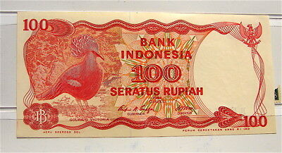 1984 Bank of Indonesia---100 Rupiah Currency Note---Un-Circulated
