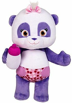 "Word Party - Lulu 10"" Stuffed Plush Baby With Bottle - Snuggle and Play"
