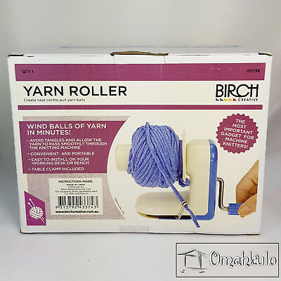 BIRCH - Yarn Roller - Wind Balls of Yarn in just Minutes