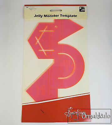 SEW EASY - Jelly Monster Template - 2-1/2""