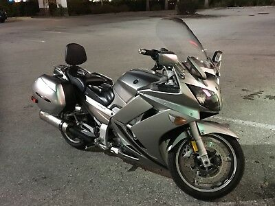 2011 Yamaha FJR  2011 FJR1300 Silver with plenty of awesome add on upgrades