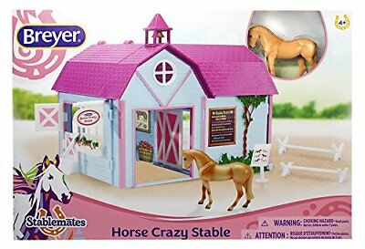 Stablemates Horse Crazy Stable Set Kids Toy Gift Toys