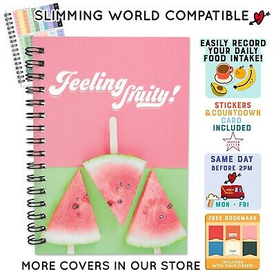 FOOD DIARY COMPATIBLE WITH SLIMMING WORLD PLAN TRACKER LOG [7wk] JOURNAL 46