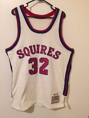 405c08b27993 100% Authentic Mitchell   Ness Throwback Julius Erving Virginia Squires  Jersey