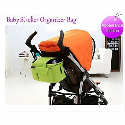 Stroller Organizers Organizer Bag, Multifunctional Fits All Strollers, Insulated