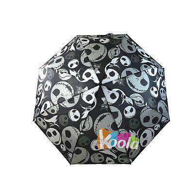 Disney Nightmare Before Christmas Jack Skellington Compact Umbrella