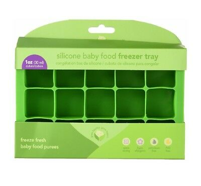 i play Green Sprouts Fresh Silicone Baby Food Freezer Tray Discontinued NIB B6