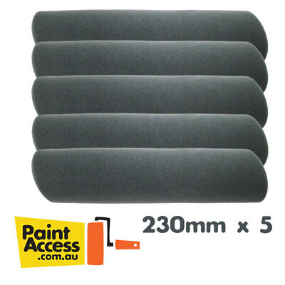 Pack of 5 Express Rollers Disposable Foam Paint Roller Cover 230mm FREE SHIPPING