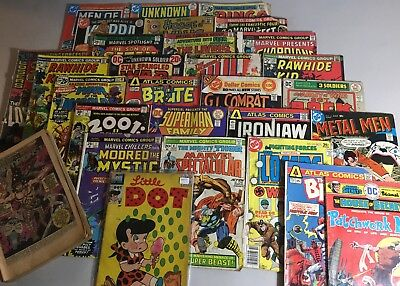 Lot-54 Lower Grade Variety Lot of Comics & Publishers No Reserve Free Shipping!!