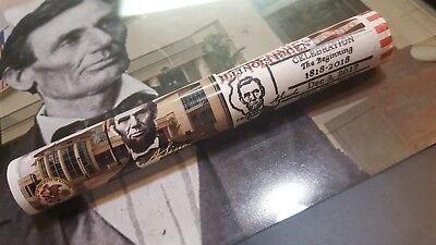 2017 ABRAHAM LINCOLN ILLINOIS BICENTENNIAL Penny Roll P-MINT