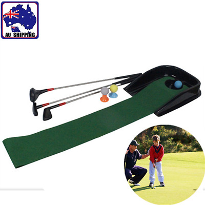 Kids Junior Golf And Putt Trainer Set Indoor Sport Playing Toy Gift GGOL97999