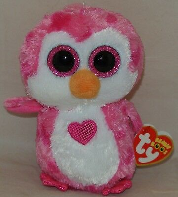2017 Ty Beanie Boos For Valentine s Day 2018 JULIET the Penguin 6