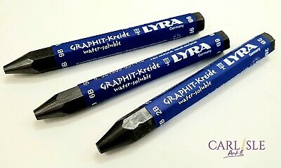 LYRA Watersoluble Graphite Crayon Choose Your Grade 2B, 6B Or 9B