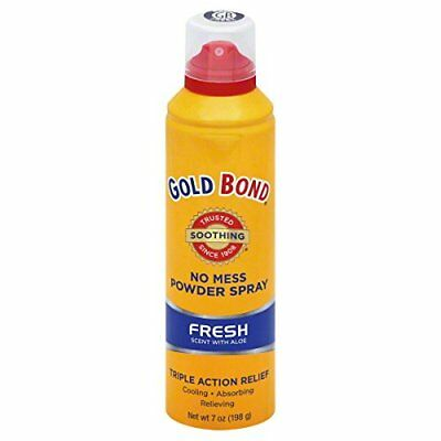 Gold Bond No Mess Fresh Scent Powder Spray With Aloe - 7 Oz
