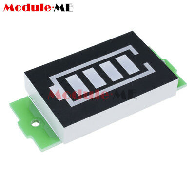 4S Lithium Battery Capacity Indicator Module 16.8V Blue Display Power Tester M