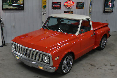 1972 Chevrolet C-10  1972 C10 FRAME OFF 350 AUTO COLD AIR!!! PS PDB NICE TRUCK!