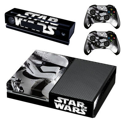 XBox One Console Skin Sticker Protector New Star Wars T2 +2 Controllers