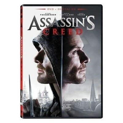 Assassins Creed (DVD, 2017, Widescreen, Includes Digital HD)  Brand New