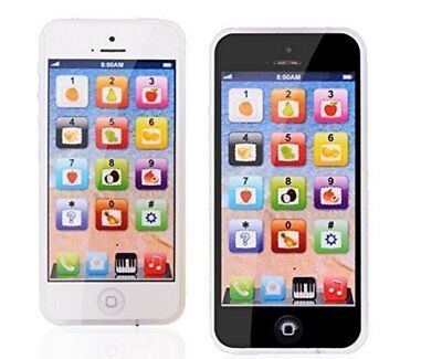 USB Recharable Toy Cell Phone Mobile Baby Kids Toddler Educational Play Leaning