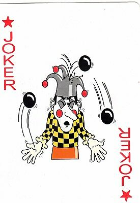 "RARE ""Ball Juggler (Large)"" JOKER Playing Card #701"