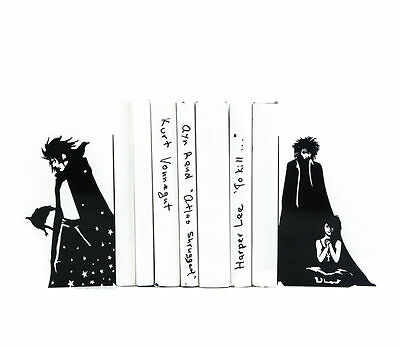 Atelier Article - Gift Steel bookends - The Sandman (Black)