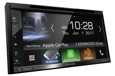 """Kenwood DDX6704S 2 DIN DVD/CD Player 6.8"""" LCD Android iPhone HD Radio Bluetooth"""