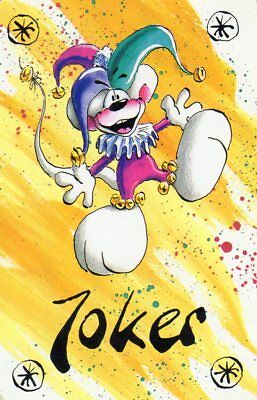 "RARE MINT ""Cartoon Animal"" JOKER Playing Card #714"