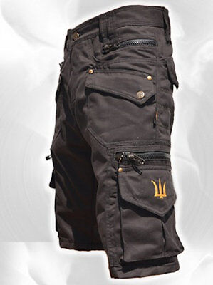 Men Short Pants Hipster Tribal Steampunk Cargo Pants Burning Man Festivals Pants