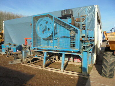 Baughans 750x500 Jaw Crusher Ford Engine Side Conveyer