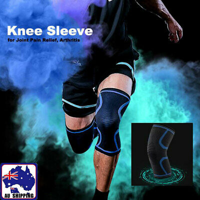 1pc Knee Support Brace Band Sport Mountaineer Ball Game Sleeve S M L OKNE993