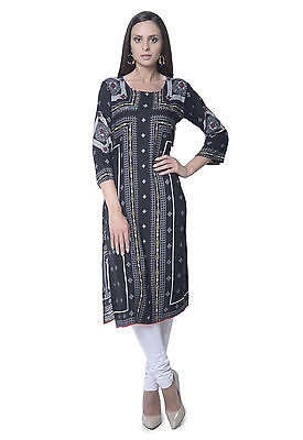 Indian Bollywood Designer new Stylish Printed Rayon Lagi Kurti Women Ethnic