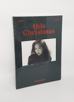 K-POP TAEYEON Winter Album [This Christmas - Winter is Coming] CD+Booklet+Card
