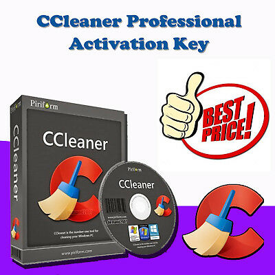 Piriform CCleaner Professional 2017 ✅ Lifetime License ✅ ***Instant delivery***