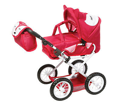 Puppenwagen Knorrtoys Ruby Foxx  ( rot - Pink)