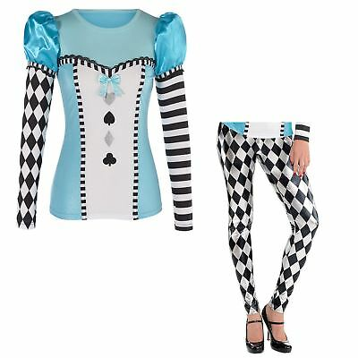 Adult Ladies Alice Costume Accessories Costume Wonderland Fairytale Book Week