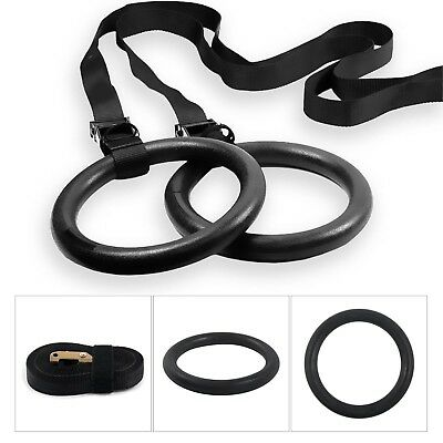 BodyRip Gymnastic Rings 2pcs Adjustable Olympic Crossfit Strength Training Gym