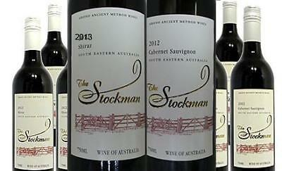Mixed Dozen | 2013 | Stockman Shiraz |  &  | 2012 | Stockman Cabernet Sauvignon