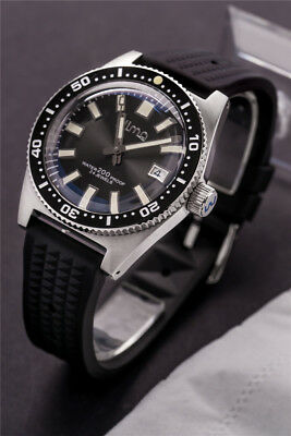 Sharkey Japan 62MAS Diver Automatic Wristwatch  Man SBDX019 Box type gla NEWLOGO