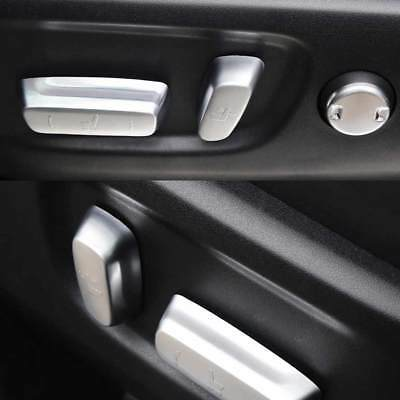 Car Inner Seat Adjustment Knob Button Switch Cover for Toyota Highlander 2014-17