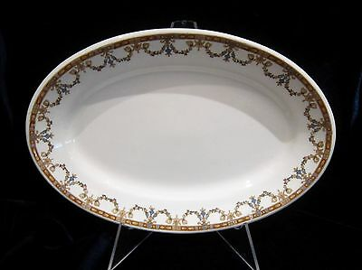 John Maddock & Sons Vitrified Oval Serving Platter - 10.75 inches - England