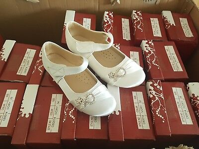 Wholesale Joblot 18 X Pairs Girls Evening Party Wedding Shoes Brand New In Box