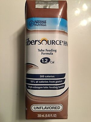 2 Fibersource HN Nutrition 8.45 oz. Tube Feeding Formula 1.2 Cal. Clearing Out!