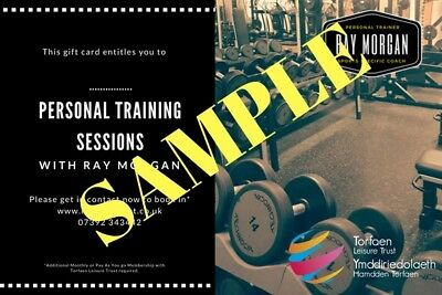 Personal Training Gift Voucher - Six Session Block Booking Discounted Rate