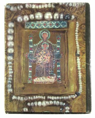 BOOK Medieval Georgian Icon Art Khakhuli Triptych enamel metal pearl old Russian