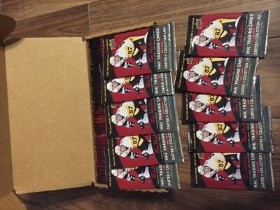 2017-18 Tim Hortons Hockey Cards - 10 Unopened packs