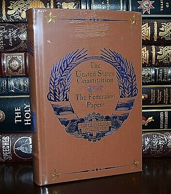 United States Constitution & Federalist Papers New Sealed Collectible Hardcover