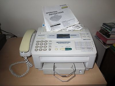 Fax Machine Panasonic Kx-F1050, Phone And Copier All In One